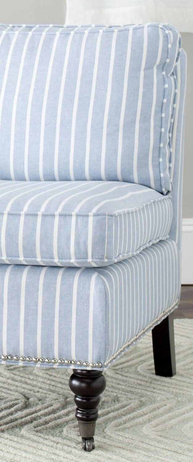 Best 20+ Striped Couch Ideas On Pinterest | Farmhouse Seat With Regard To Blue And White Striped Sofas (Image 5 of 20)