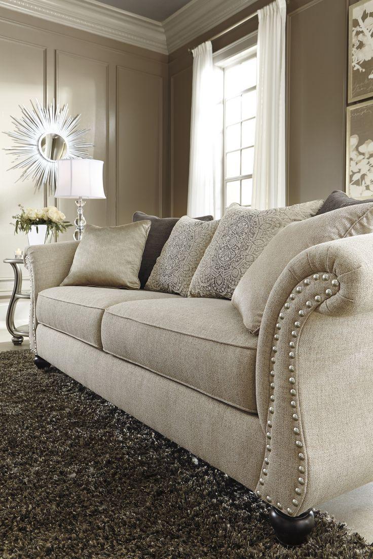 Best 25+ Ashley Furniture Sofas Ideas On Pinterest | Ashleys Pertaining To Ashley Tufted Sofa (View 7 of 20)