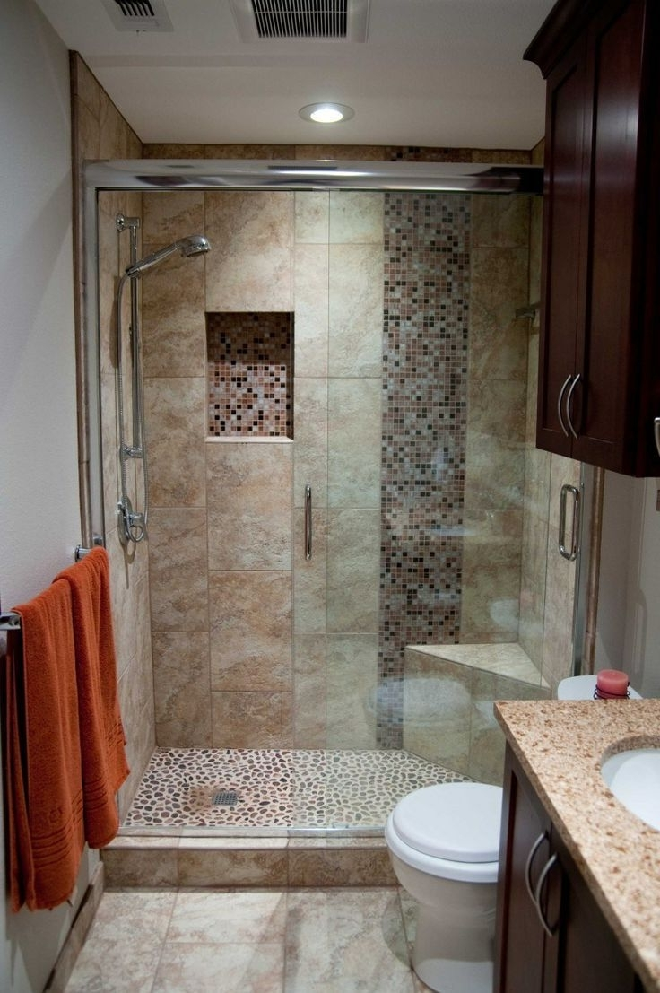 Best 25+ Bathroom Remodeling Ideas On Pinterest | Small Bathroom In Cheap Ways To Improve Your Bathroom (View 6 of 33)