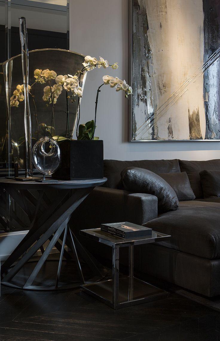 Best 25+ Black Sofa Decor Ideas On Pinterest | Black Sofa, Black Throughout Black Sofas Decors (Image 5 of 20)