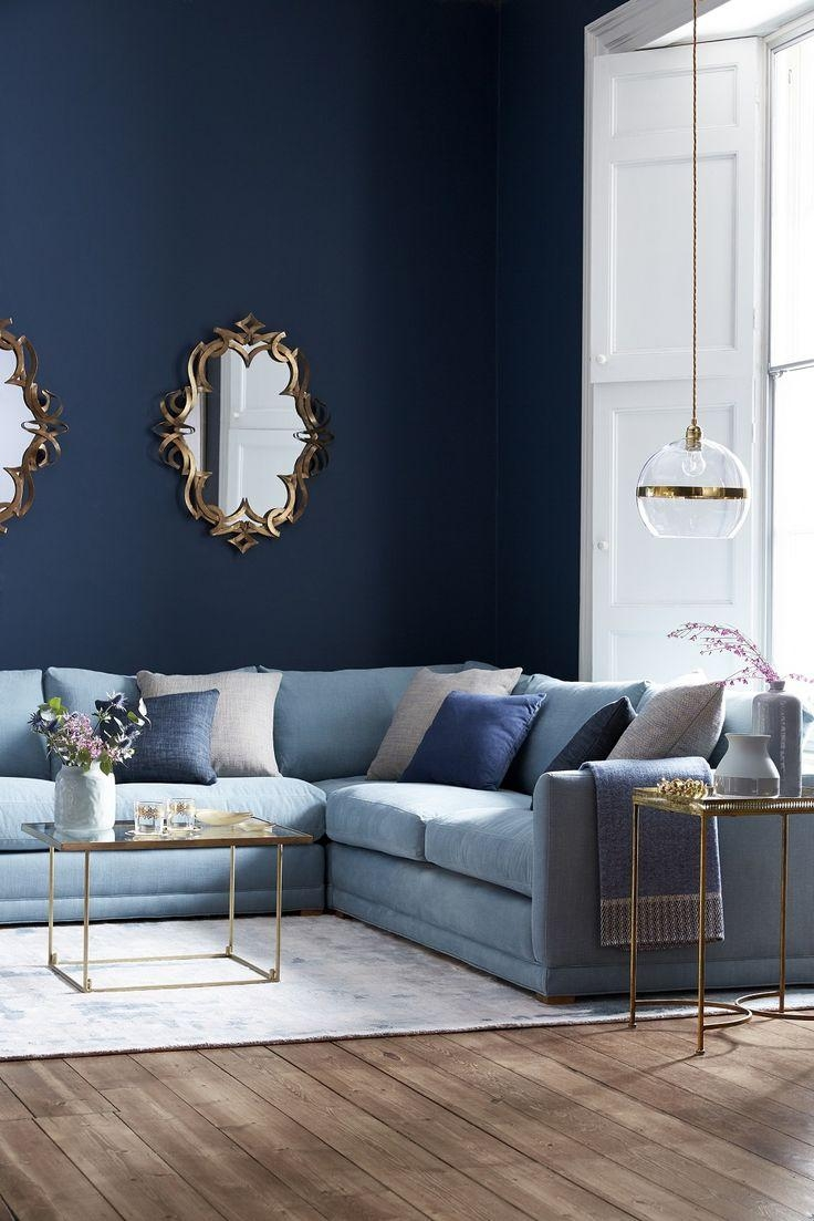 Best 25+ Blue Sofas Ideas On Pinterest | Sofa, Navy Blue Couches Inside Midnight Blue Sofas (View 7 of 20)