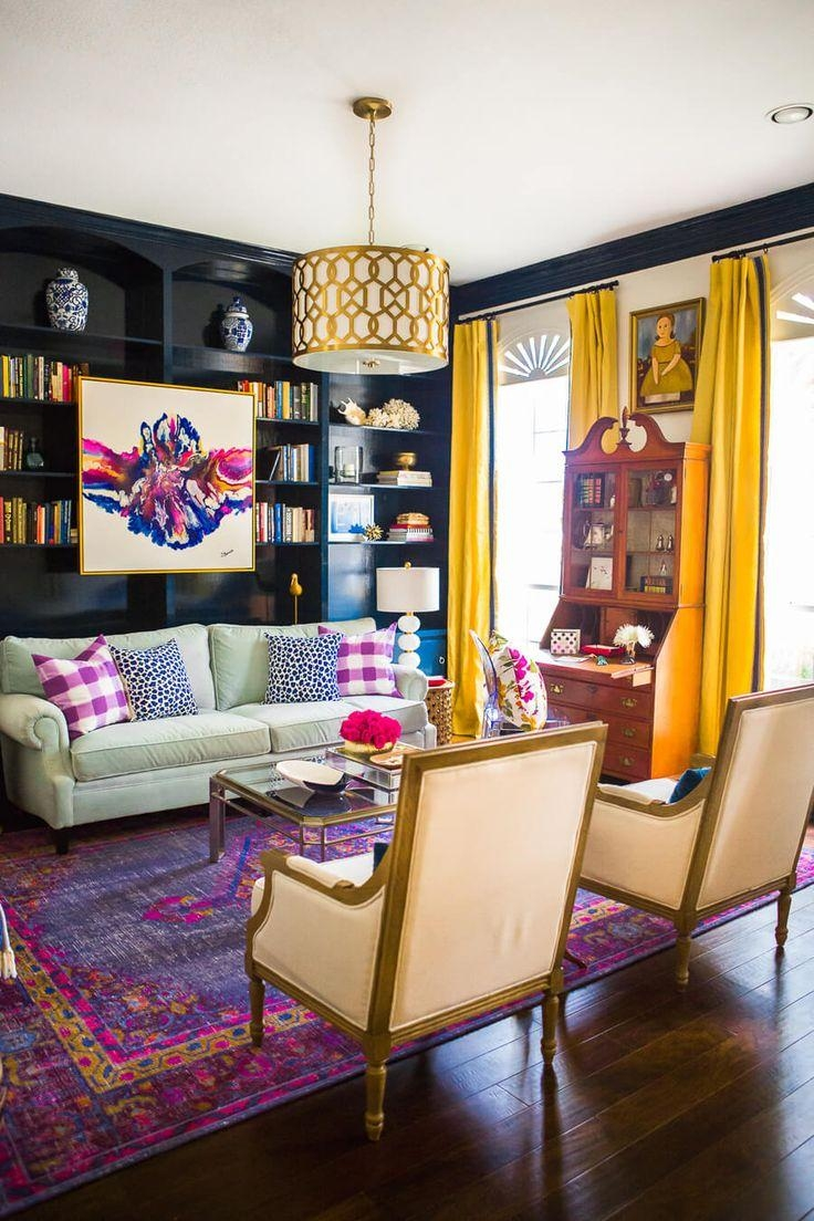 Best 25+ Bold Living Room Ideas On Pinterest | Bold Colors, Teal For Colorful Sofas And Chairs (View 10 of 20)