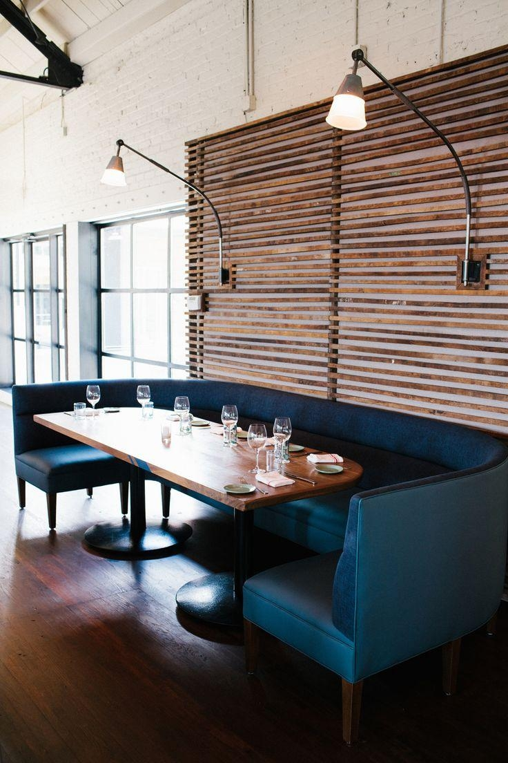 Best 25+ Booth Seating Ideas On Pinterest | Restaurant Design With Regard To Banquette Sofas (Image 15 of 20)