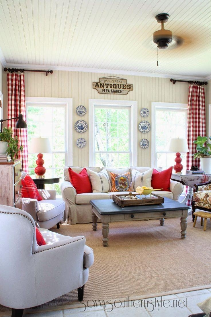 Best 25+ Buffalo Check Curtains Ideas On Pinterest | French Inside Buffalo Check Sofas (Image 4 of 20)