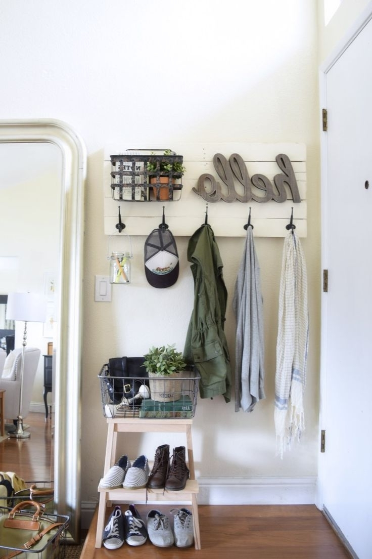 Best 25+ Coat Hanger Ideas On Pinterest | Wood, Wood Rack And Pertaining To Coat Racks For Your Entryway (Image 3 of 8)