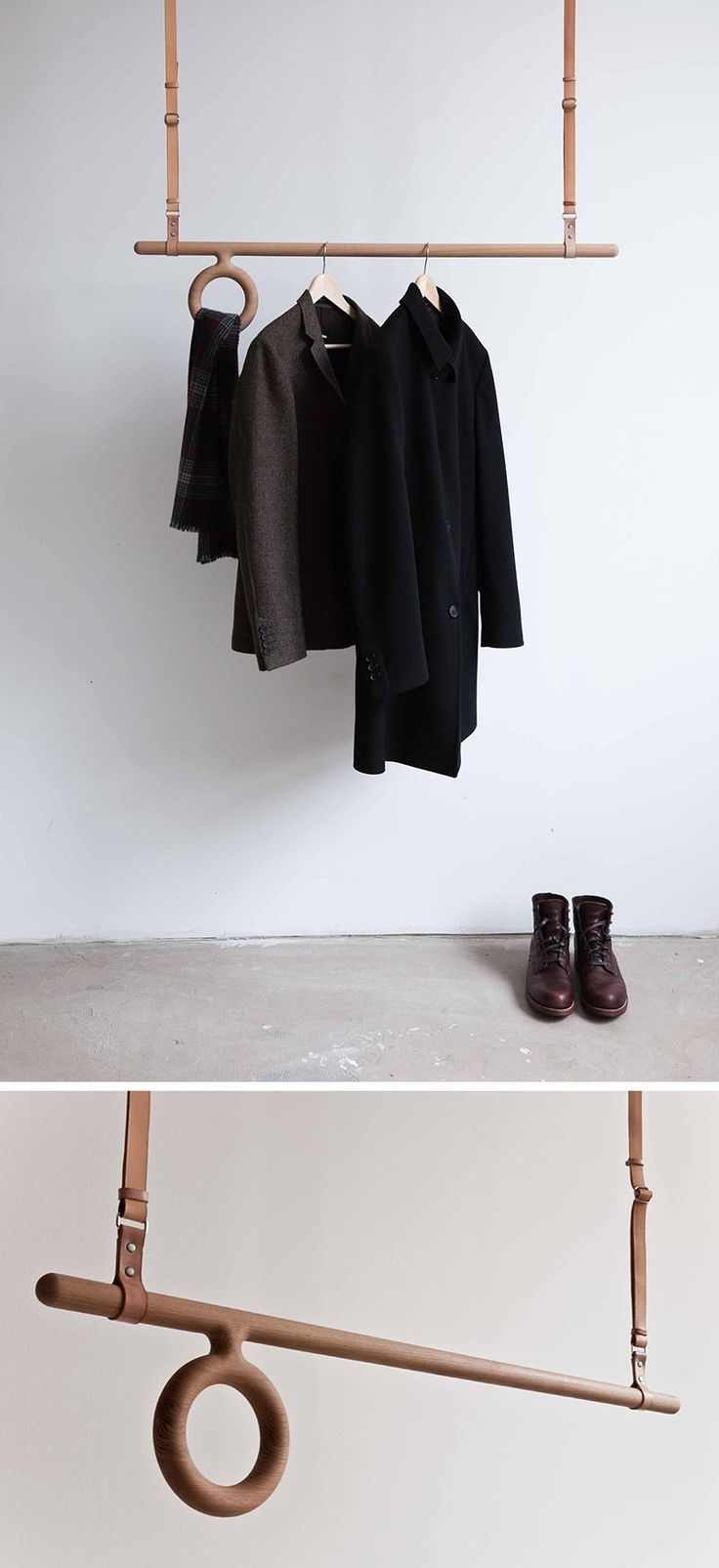 Best 25+ Coat Hanger Ideas On Pinterest | Wood, Wood Rack And Within Coat Racks For Your Entryway (Image 4 of 8)