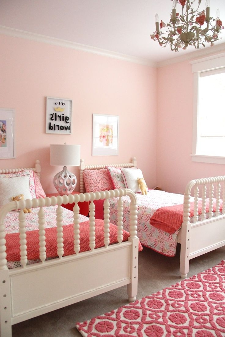 Best 25+ Coral Girls Bedrooms Ideas On Pinterest | Coral Girls Throughout Girls Room (Image 3 of 24)