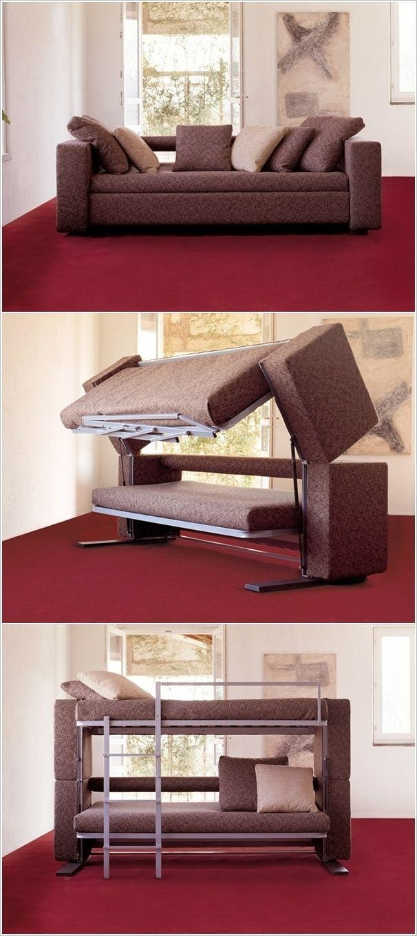 Best 25+ Couch Bunk Beds Ideas On Pinterest | Bunk Bed With Desk Pertaining To Sofa Bunk Beds (View 15 of 20)