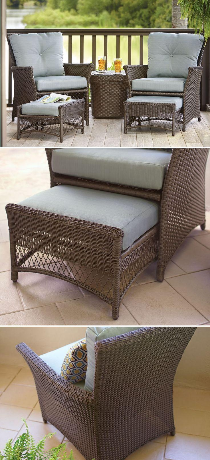 Best 25+ Deck Furniture Ideas On Pinterest | Outdoor Furniture With Patio Sofa Tables (View 10 of 20)