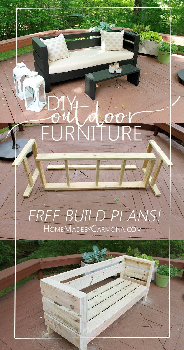 Best 25+ Deck Furniture Ideas On Pinterest | Outdoor Furniture With Regard To Patio Sofa Tables (Image 4 of 20)