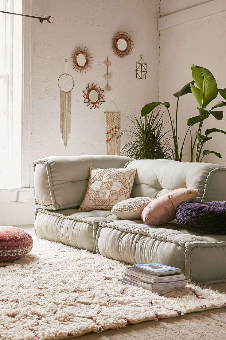 Best 25+ Floor Couch Ideas On Pinterest | Cushions For Couch With Floor Cushion Sofas (View 2 of 20)
