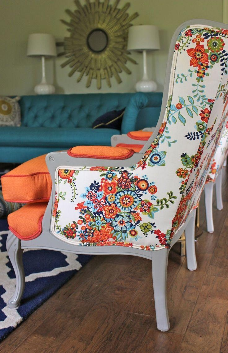 Best 25+ Floral Sofa Ideas Only On Pinterest | Timorous Beasties For Colorful Sofas And Chairs (View 19 of 20)