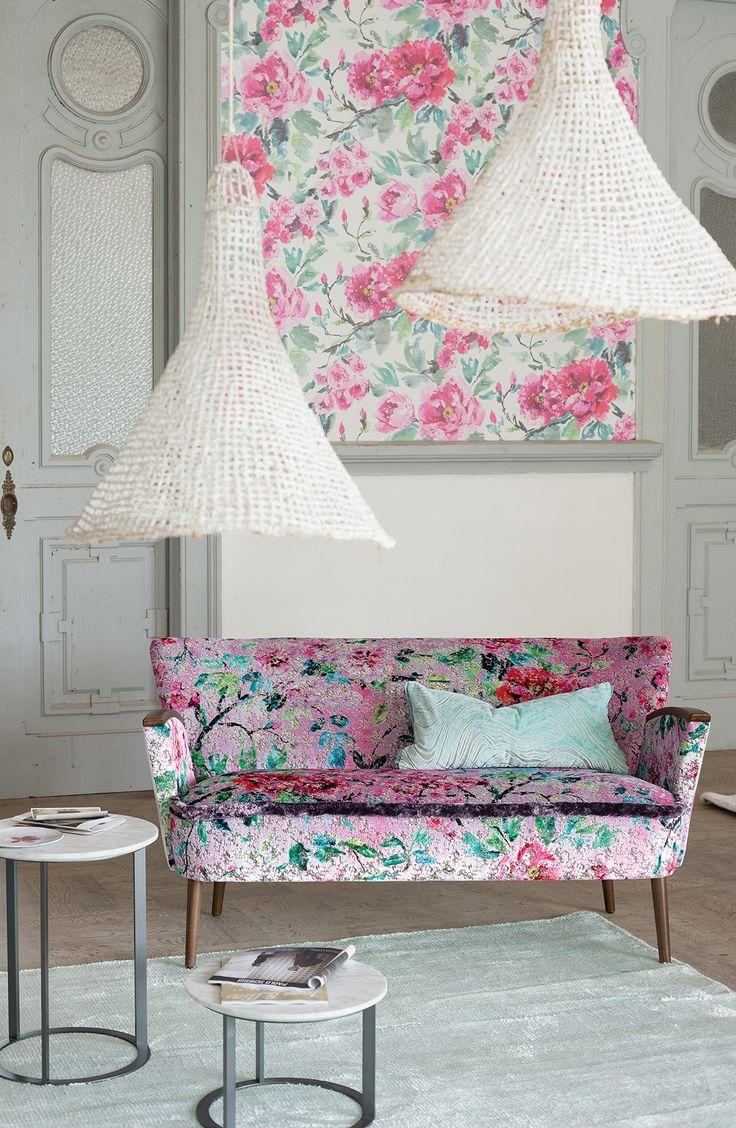 Best 25+ Floral Sofa Ideas Only On Pinterest | Timorous Beasties Inside Chintz Fabric Sofas (Image 11 of 20)