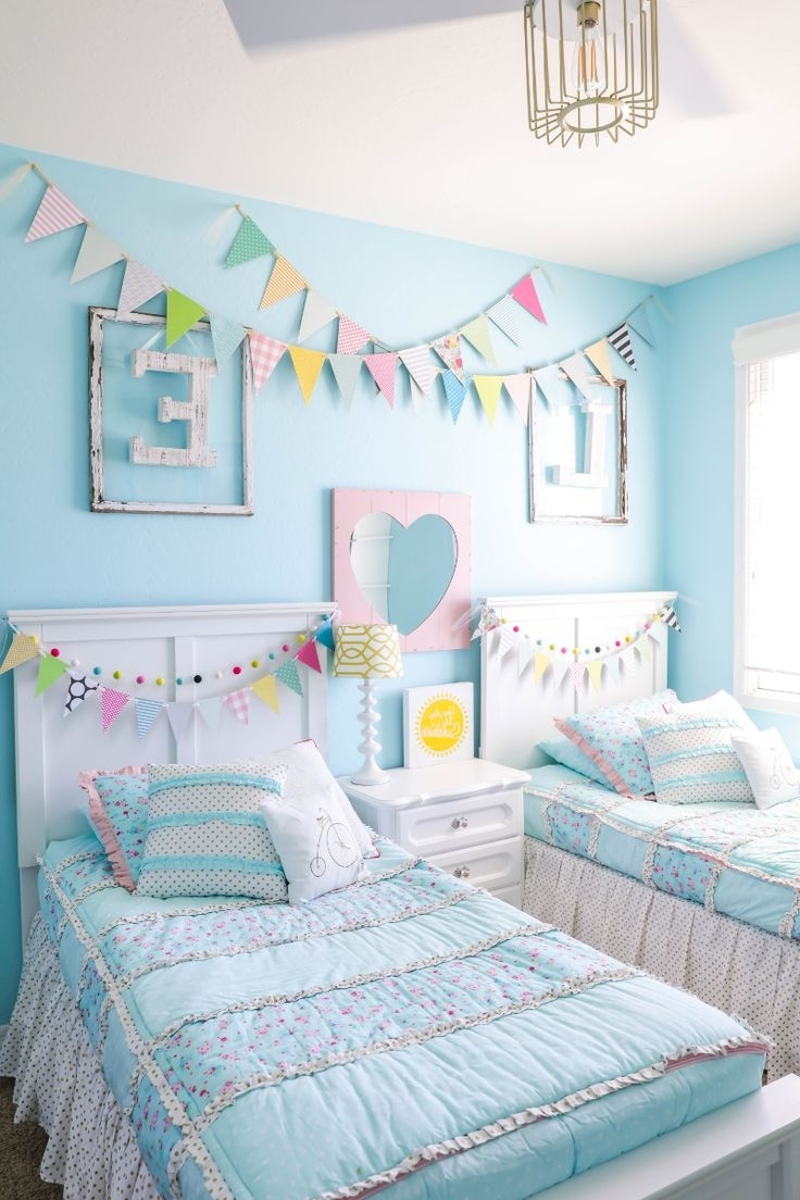 Best 25+ Girls Bedroom Ideas Only On Pinterest | Princess Room Regarding How To Decorate A Girls Room (View 7 of 24)