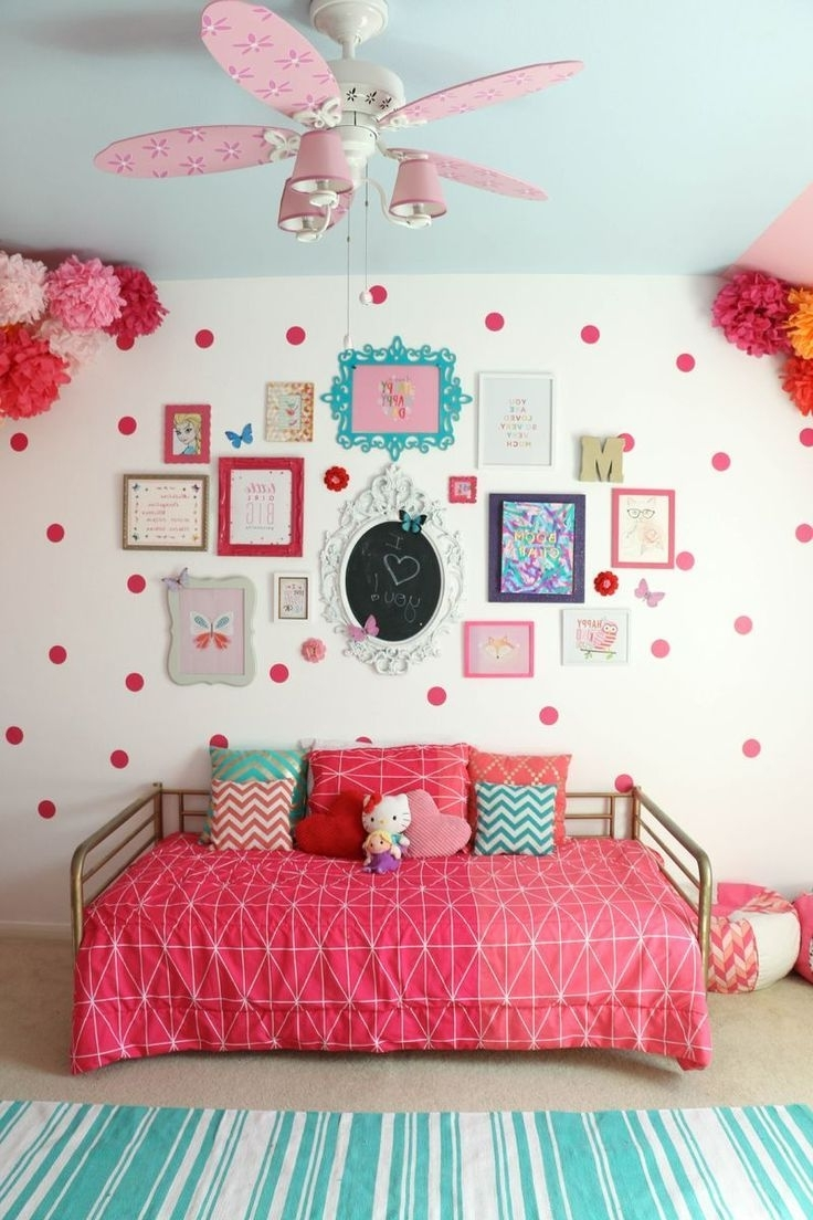 Best 25+ Girls Ceiling Fan Ideas On Pinterest | Ceiling Fan Girls Pertaining To Girls Room (Image 10 of 24)
