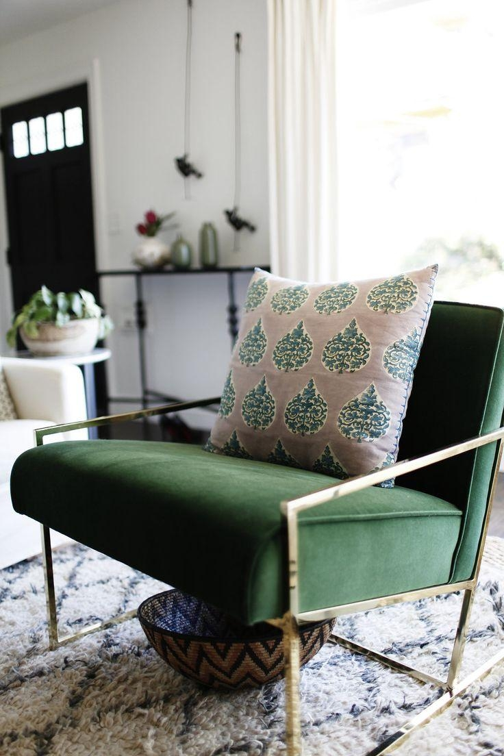 Best 25+ Green Chairs Ideas On Pinterest | Chair Design, Dining With Green Sofa Chairs (View 8 of 20)
