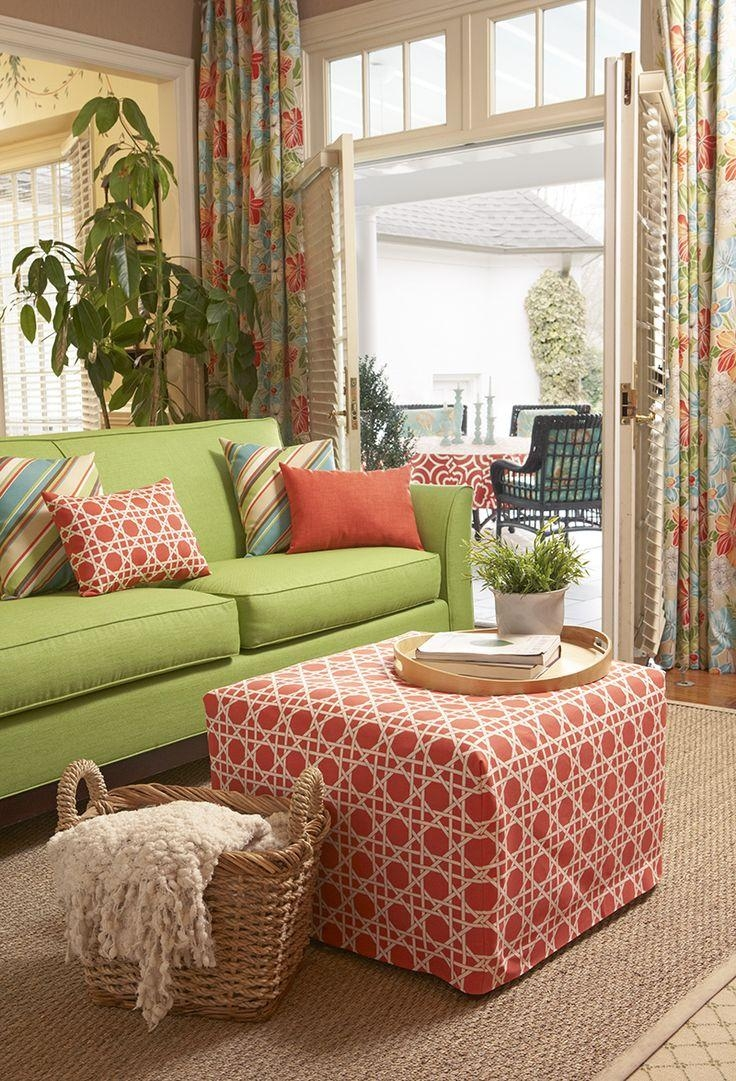 Best 25+ Green Living Room Furniture Ideas On Pinterest | Green Inside Colorful Sofas And Chairs (Image 9 of 20)