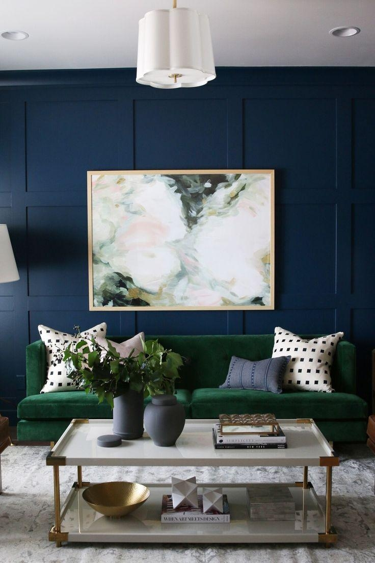 Best 25+ Green Sofa Ideas On Pinterest | Green Living Room Sofas In Emerald Green Sofas (View 11 of 20)