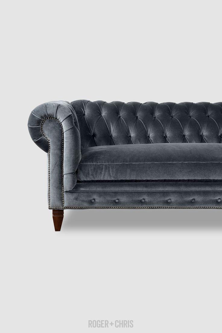 Best 25+ Grey Velvet Sofa Ideas On Pinterest | Gray Velvet Sofa With Charcoal Grey Sofas (Image 7 of 20)