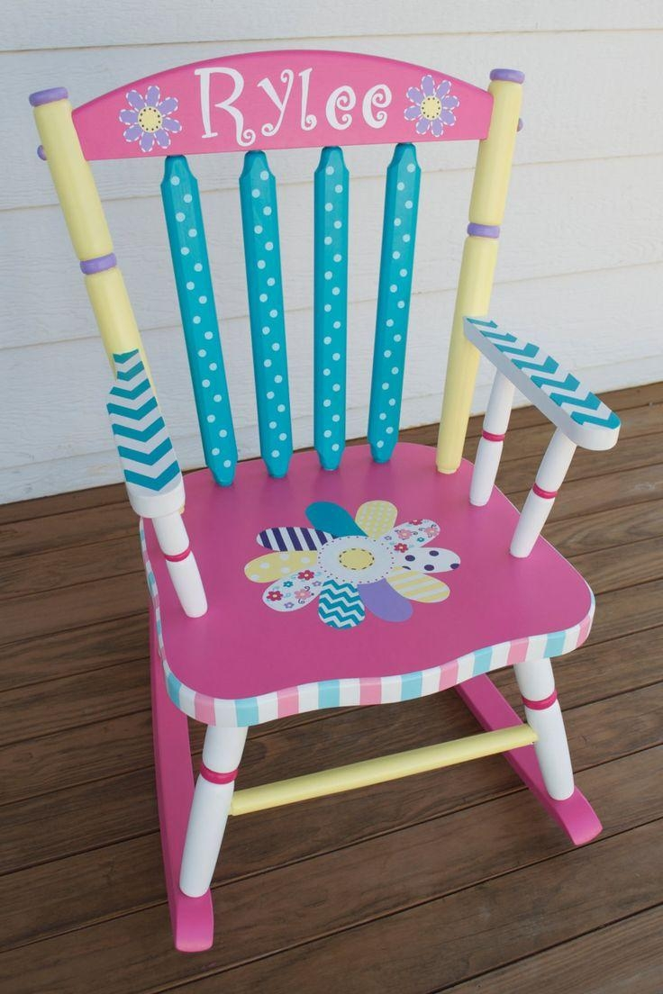 Best 25+ Hand Painted Chairs Ideas On Pinterest | Painted Chairs With Personalized Kids Chairs And Sofas (Image 3 of 20)