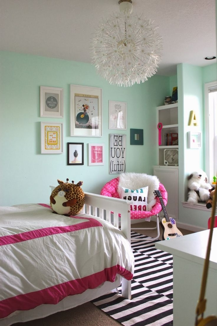 Best 25+ Mint Girls Room Ideas On Pinterest | Gold Teen Bedroom With Regard To Girls Room (Image 15 of 24)