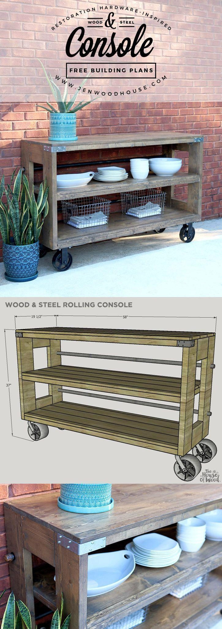 Best 25+ Outdoor Console Table Ideas Only On Pinterest | Diy Sofa Throughout Patio Sofa Tables (View 15 of 20)
