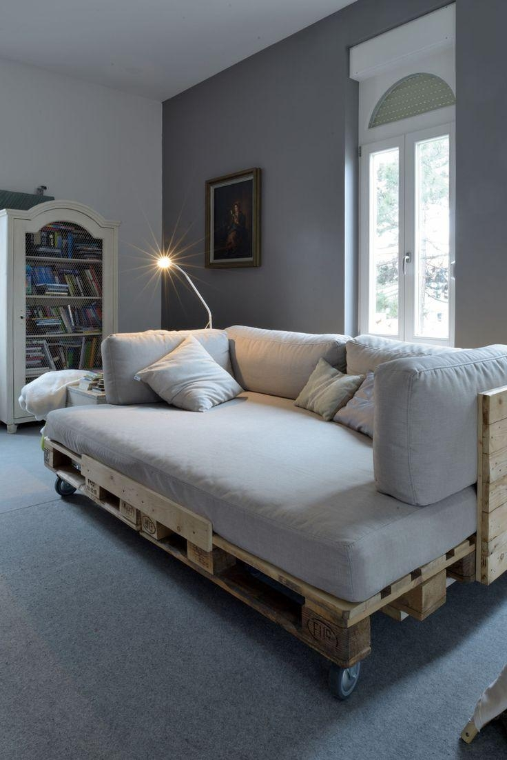 Best 25+ Pallet Sofa Ideas On Pinterest | Palette Furniture, Wood Intended For Pallet Sofas (View 14 of 20)