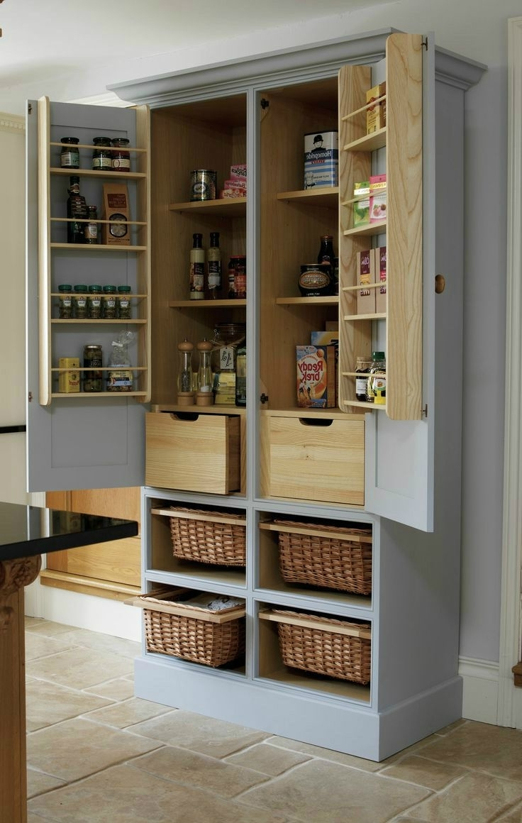 Best 25+ Pantry Cabinets Ideas On Pinterest | Kitchen Pantry Regarding Pantry Cabinets (Image 2 of 17)