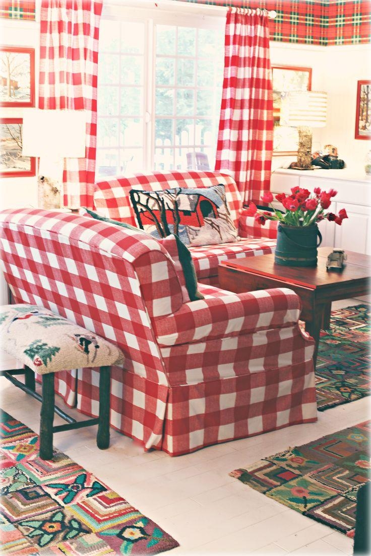 Best 25+ Plaid Couch Ideas On Pinterest | Painting Fabric For Gingham Sofas (View 4 of 20)