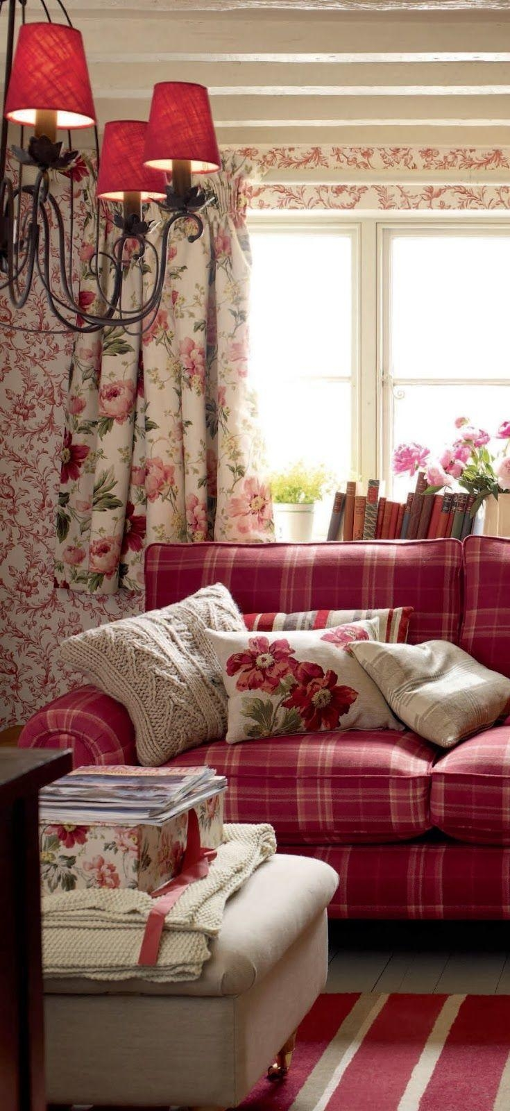 Best 25+ Plaid Couch Ideas On Pinterest | Painting Fabric Intended For Shabby Chic Sectional Sofas Couches (View 18 of 21)