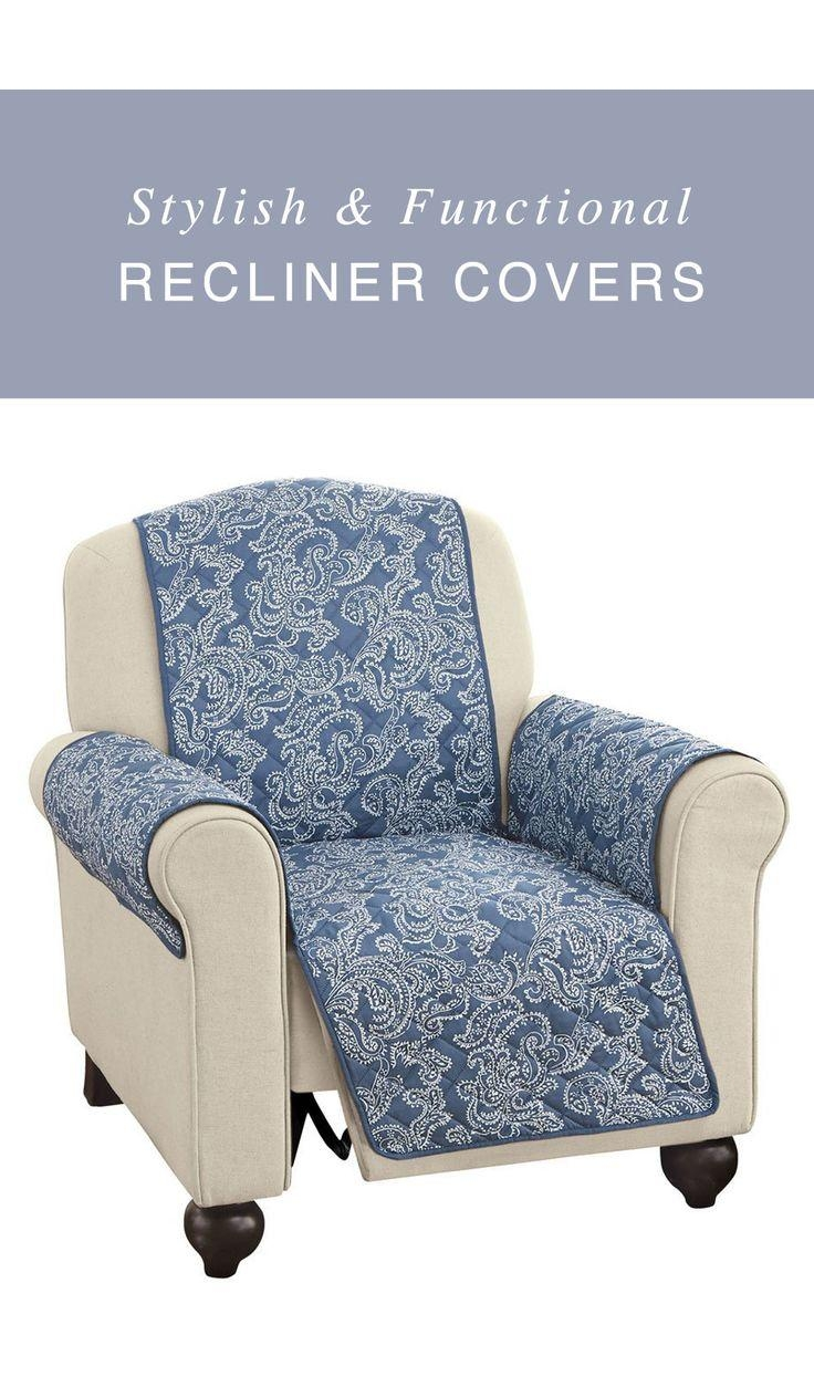 Best 25+ Recliner Cover Ideas On Pinterest | How To Reupholster With Stretch Covers For Recliners (View 9 of 20)