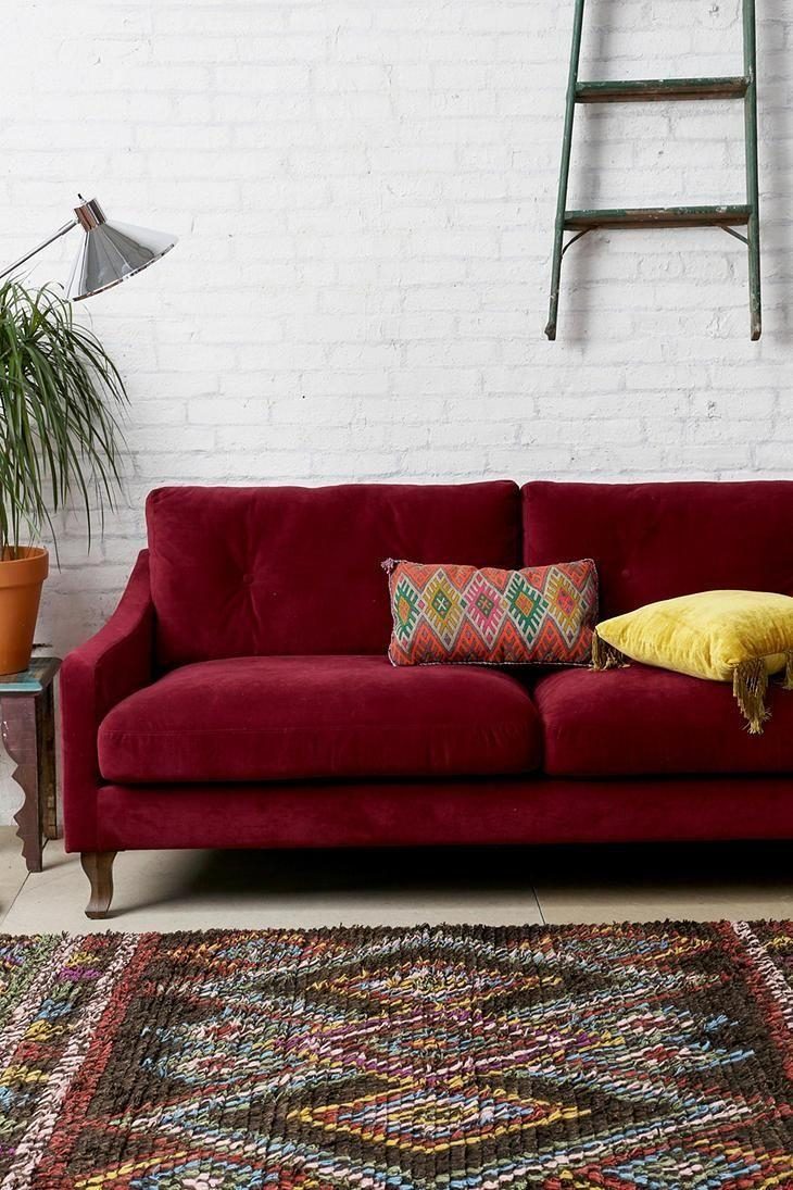 Best 25+ Red Couch Rooms Ideas On Pinterest | Red Couch Living With Red Sofa Chairs (Image 4 of 20)