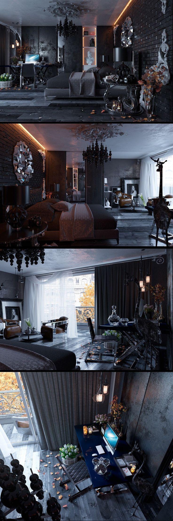 Best 25+ Skull Furniture Ideas On Pinterest | Skull Bedroom Regarding Gothic Sofas (View 18 of 20)