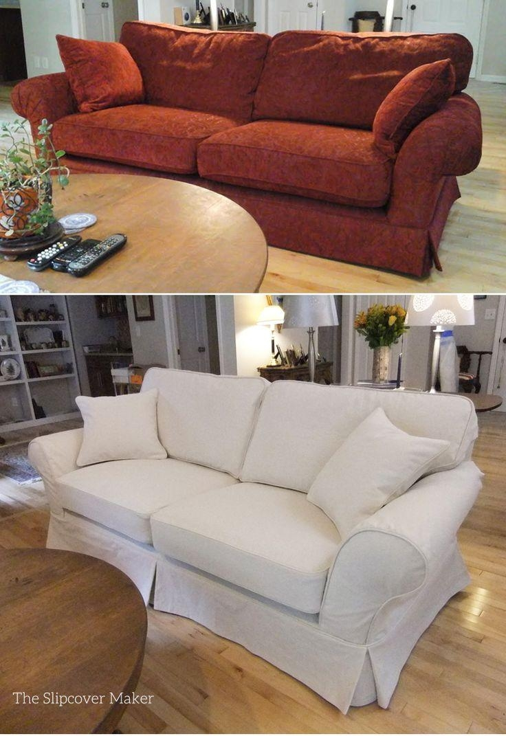 Best 25+ Sofa Covers Cheap Ideas On Pinterest | Fabric Covered Pertaining To Canvas Sofa Slipcovers (Image 1 of 20)