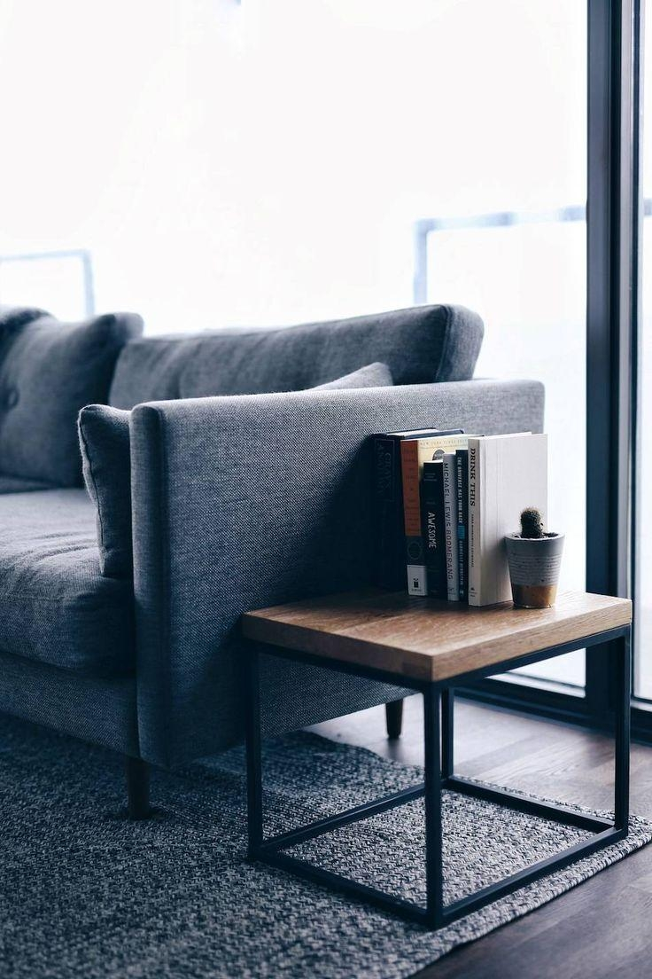 Best 25+ Sofa Side Table Ideas That You Will Like On Pinterest Throughout Sofa Drink Tables (View 14 of 20)