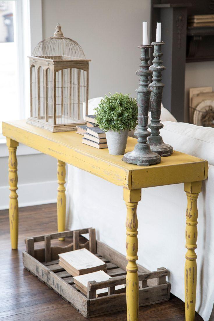 Best 25+ Sofa Tables Ideas On Pinterest | Hallway Tables, Country Pertaining To Country Sofa Tables (View 6 of 20)