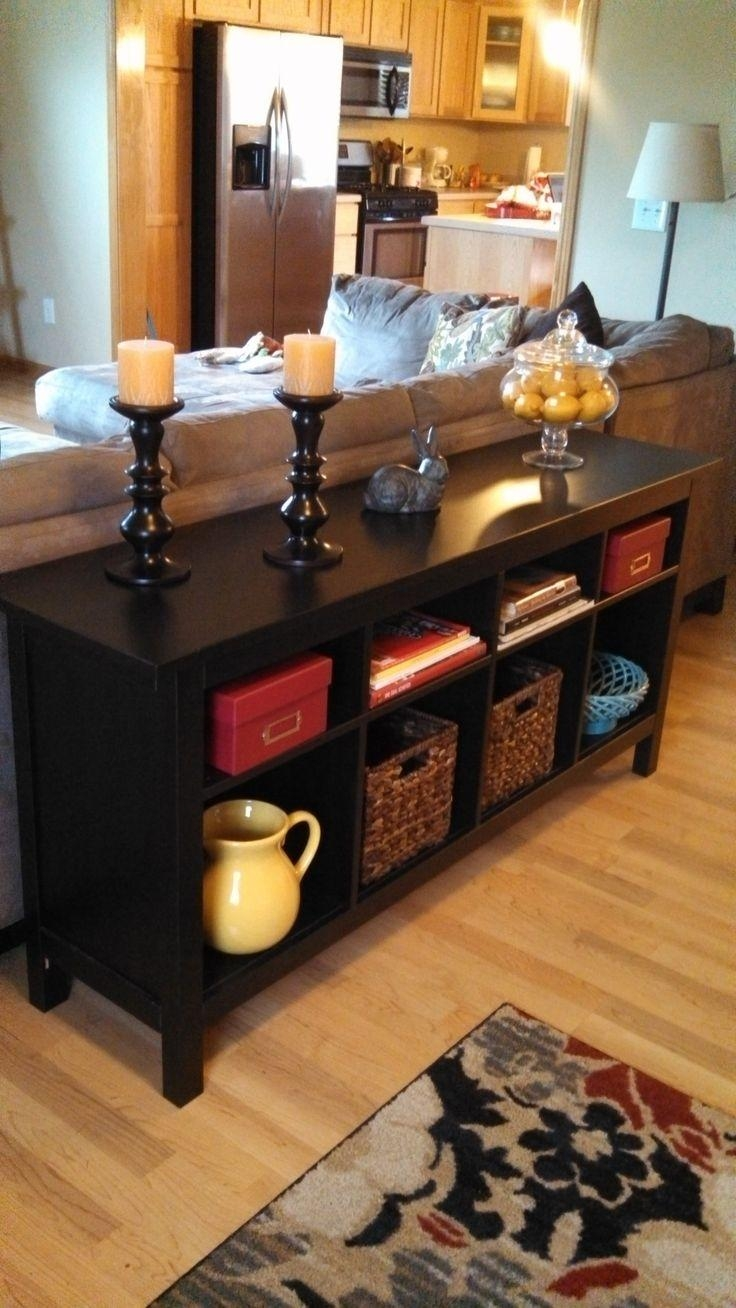 Best 25+ Table Behind Couch Ideas On Pinterest | Behind Sofa Table In Sofa Table With Chairs (Image 6 of 20)