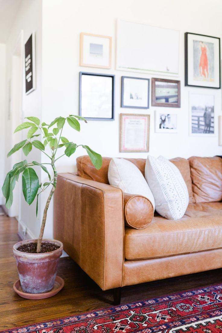 Best 25+ Tan Leather Couches Ideas Only On Pinterest | Leather Pertaining To Light Tan Leather Sofas (Image 3 of 20)
