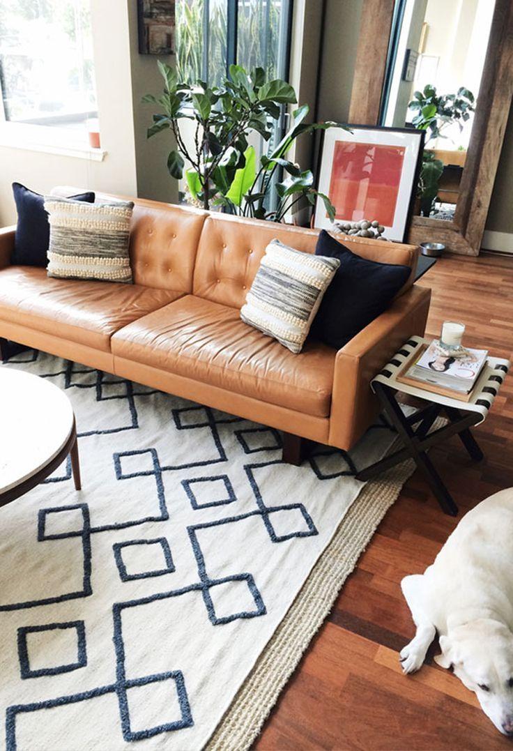 Best 25+ Tan Leather Sofas Ideas On Pinterest | Tan Leather Intended For Light Tan Leather Sofas (View 12 of 20)
