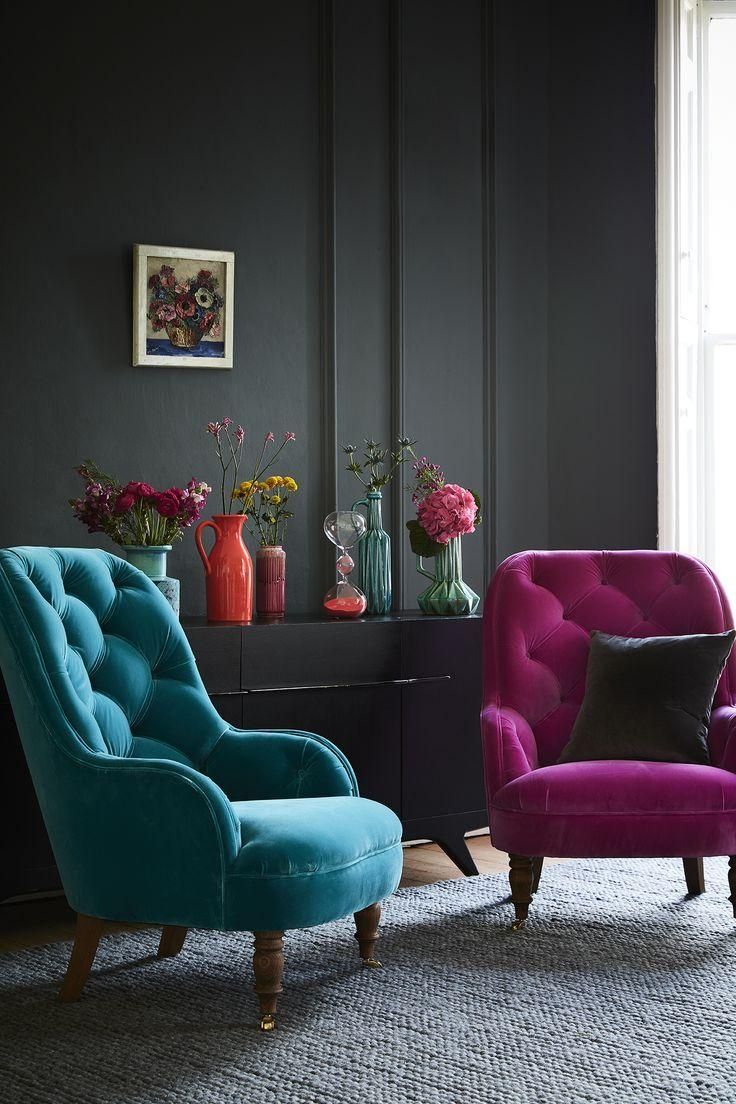 Best 25+ Teal Sofa Ideas On Pinterest | Teal Sofa Inspiration Within Colorful Sofas And Chairs (View 2 of 20)