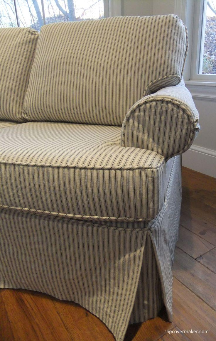 Best 25+ Ticking Stripe Ideas On Pinterest | Farmhouse Pillowcases Inside Striped Sofas And Chairs (View 10 of 20)