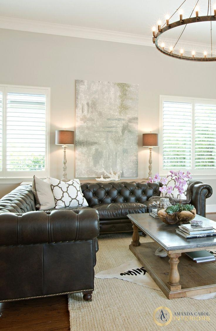 Best 25+ Tufted Sectional Ideas On Pinterest | Tufted Sectional For Tufted Sectional With Chaise (Image 1 of 20)