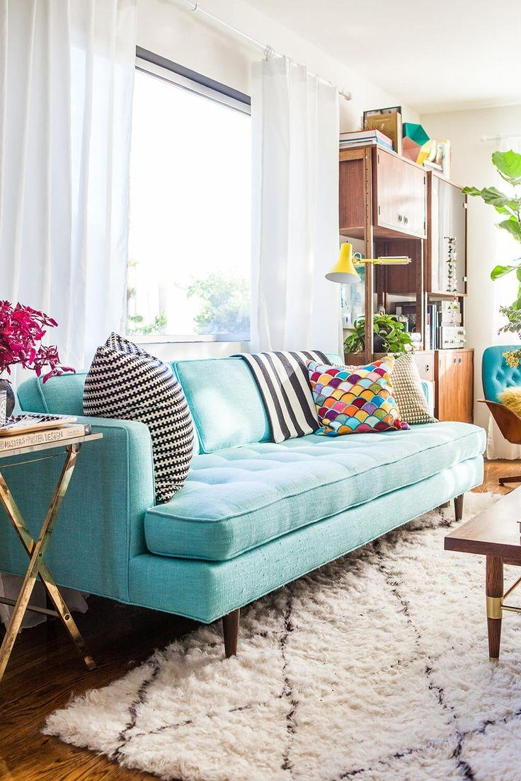 Best 25+ Turquoise Sofa Ideas On Pinterest | Turquoise Couch, Teal For Mint Green Sofas (Image 6 of 20)