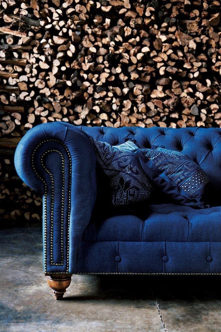 Best 25+ Velvet Tufted Sofa Ideas On Pinterest | Velvet Regarding Blue Velvet Tufted Sofas (Image 2 of 20)
