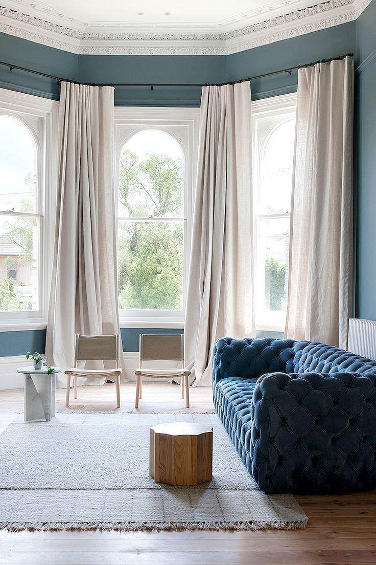 Best 25+ Velvet Tufted Sofa Ideas On Pinterest | Velvet Regarding Window Sofas (Image 4 of 20)