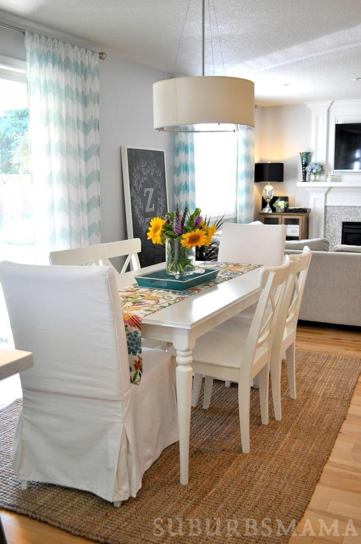 Best 25+ White Dining Table Ideas On Pinterest | White Dining Room Inside Dining Table With Sofa Chairs (Image 2 of 20)