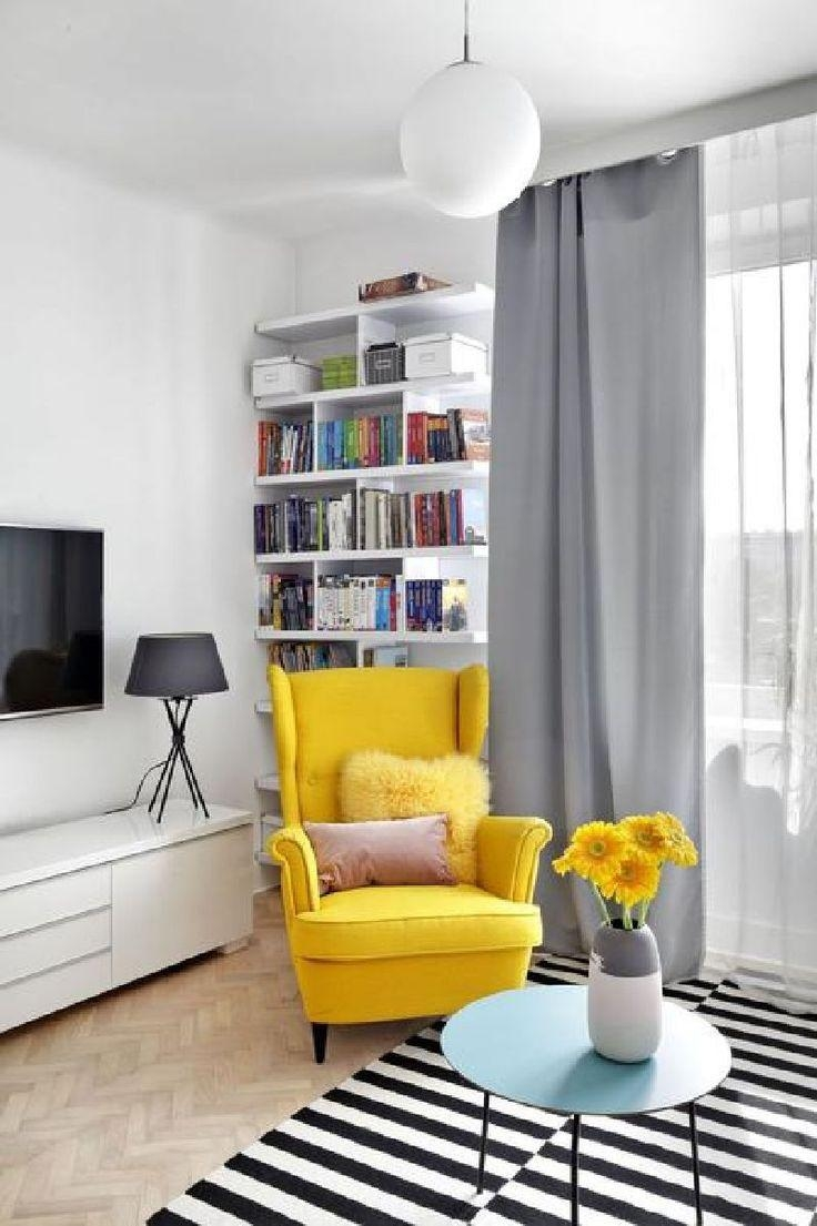 Best 25+ Yellow Armchair Ideas On Pinterest | Yellow Sofa Design With Regard To Yellow Sofa Chairs (Image 2 of 20)