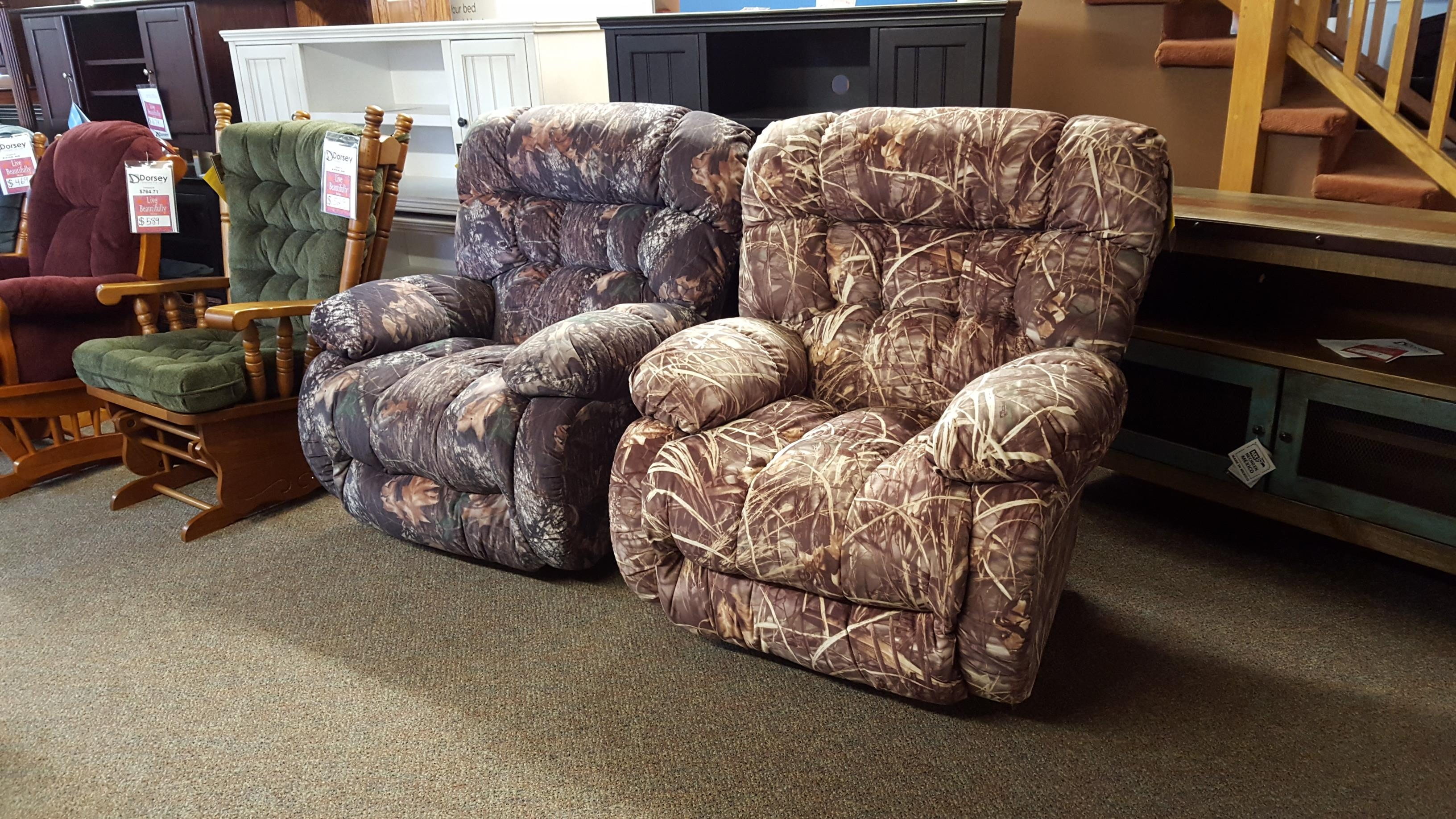 Best Chair Camo Recliners!!! – Furniture Store Bangor, Maine With Regard To Camo Reclining Sofas (Image 2 of 20)