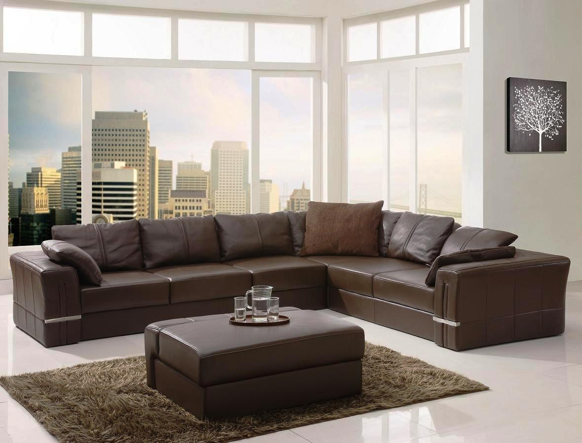 Best Designs Modern Sectional Sofashome Design Styling Throughout Leather Modern Sectional Sofas (Image 3 of 20)