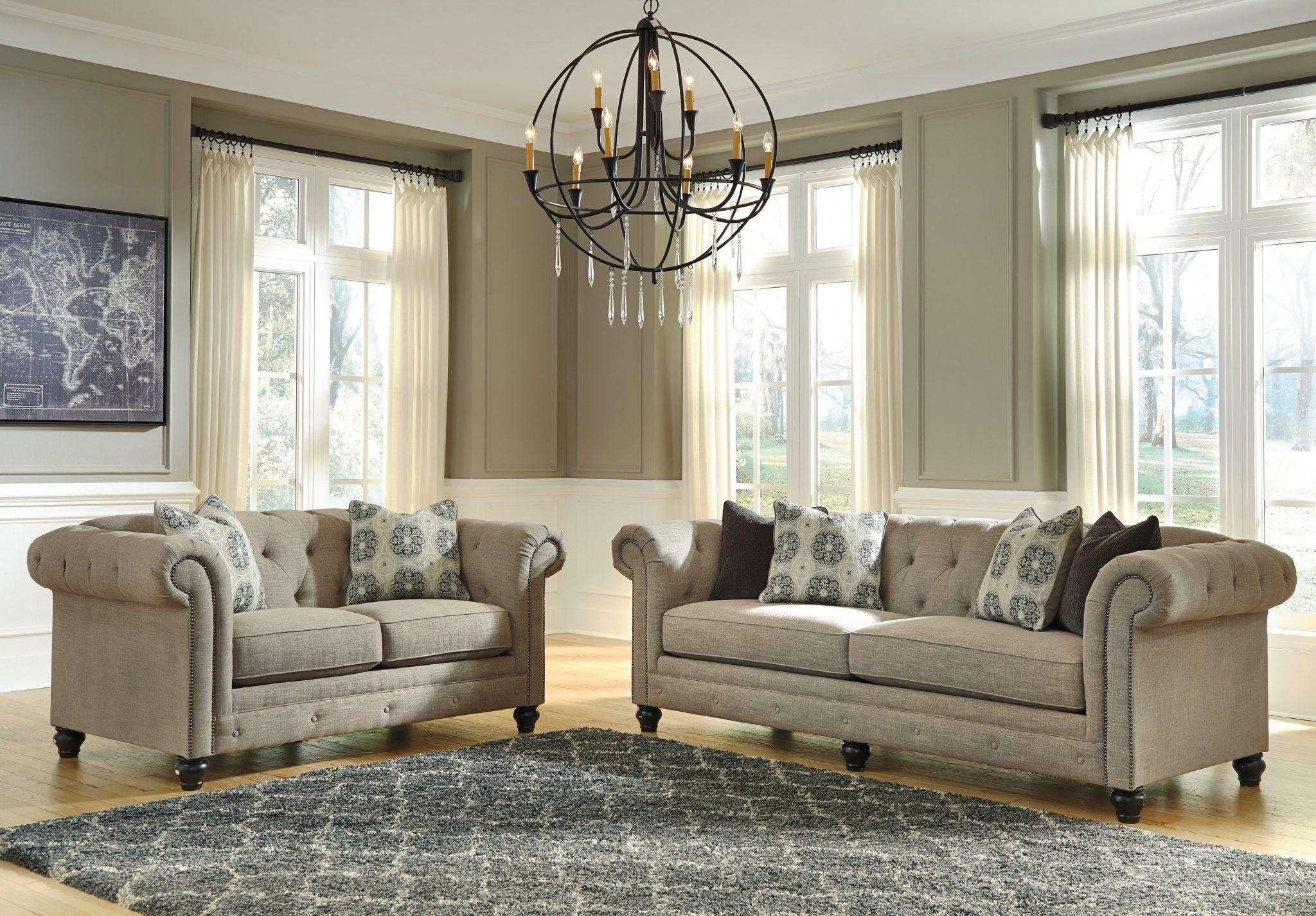 Best Furniture Mentor Oh: Furniture Store – Ashley Furniture Within Ashley Tufted Sofa (Image 12 of 20)